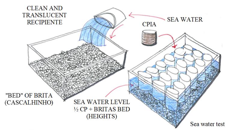 Seawater test (schematic design).